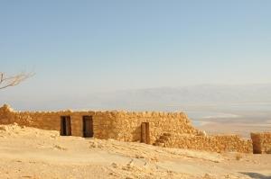 Masada - the mountain fortress