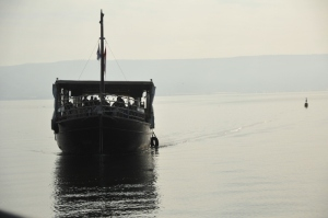 on the Sea of Galilee