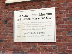 Boston Massacre site